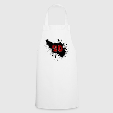 Date of birth 20 years - Cooking Apron