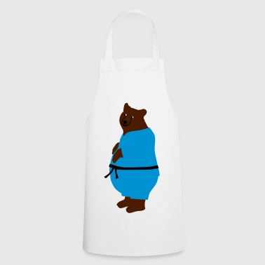 taekwondo bear - Cooking Apron