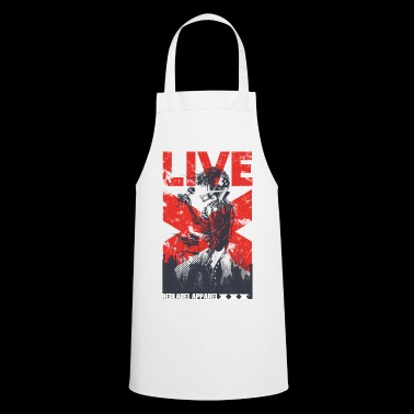LIVE - Rock Concert Music Metal Popstar Gift - Cooking Apron