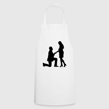 proposal of marriage - Cooking Apron