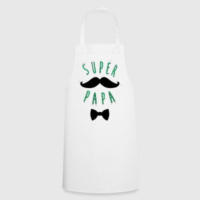 Super papa moustache - Tablier de cuisine