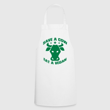 SAVE A COW - EAT A VEGETARIAN! - Cooking Apron