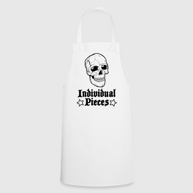 IndividualPiecesScullStars - Cooking Apron