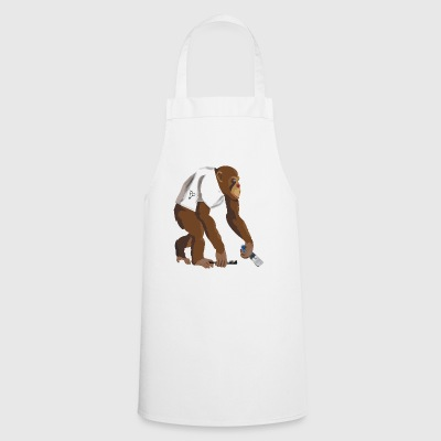 Monkey barber - Cooking Apron