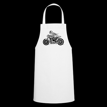 Cafe Racer motorcycle 05_black - Cooking Apron