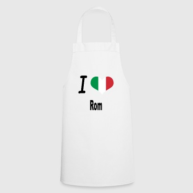 I Love Italy Home Rome - Cooking Apron