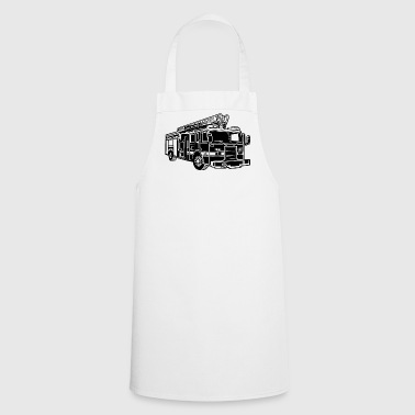Fire Engine Fire Truck / Firefighter Truck 01_2c - Cooking Apron