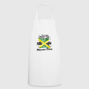 HOLIDAY JAMESICA ROOTS TRAVEL IN Jamaica Maroon - Cooking Apron