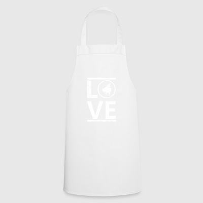 love love calling hobby king master piano klavie - Cooking Apron