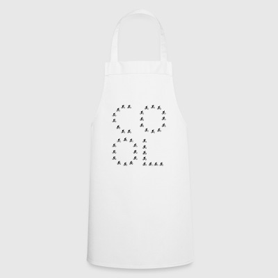 cool king queen passion love bycicle bike - Cooking Apron