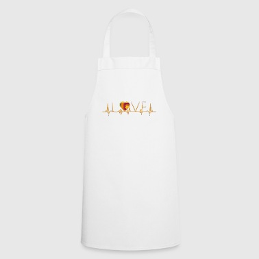 home roots home love heart from Sri Lanka - Cooking Apron