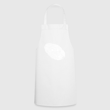 fingerprint dna dns gift construction worker - Cooking Apron