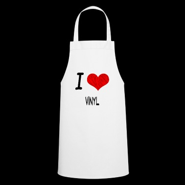 I Love Hobby Present bday VINYL - Cooking Apron