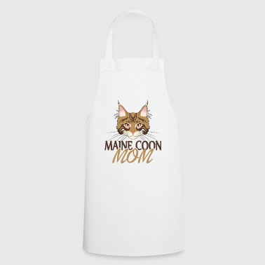 Maine Coon Mom - For the Proud Maine Coon Mom - Cooking Apron