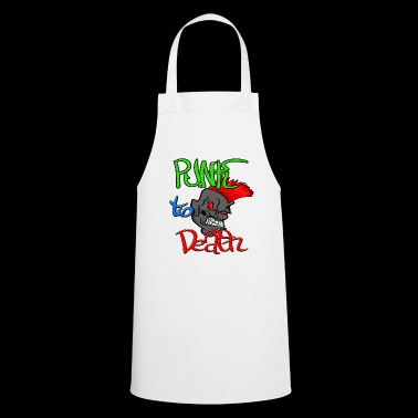 Punk Rock to the death with Punker Totenkopf - Cooking Apron