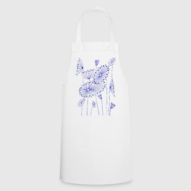 Fantasy flowers - Cooking Apron