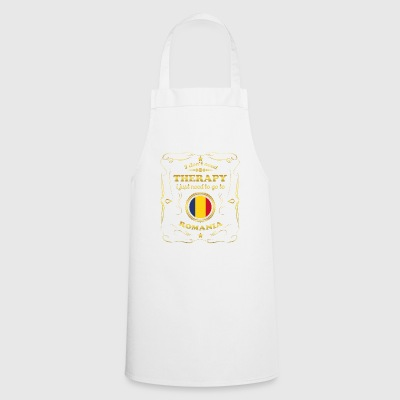 DON T NEED THERAPY GO TO ROMANIA - Cooking Apron