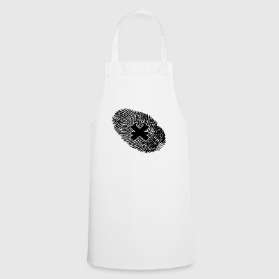 fingerprint dns dna gift joiner - Cooking Apron