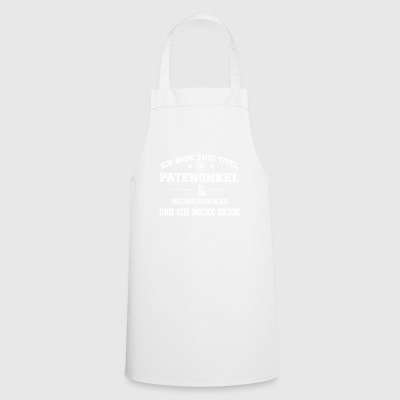 GIFT HAVE TITLE PATENONKEL Mechatronics - Cooking Apron