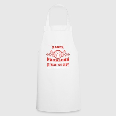 gift solve problems know BAKER - Cooking Apron