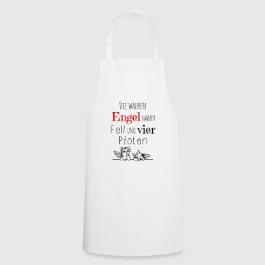 The true angel fur and four legs - Cooking Apron