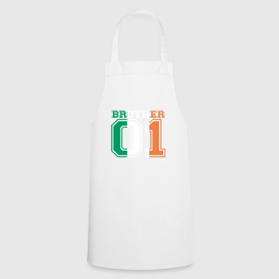 brother brother 01 king Ireland - Cooking Apron