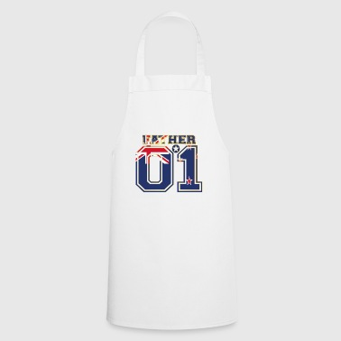 Father dad father 01 New Zealand - Cooking Apron
