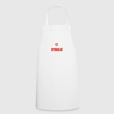 Gift it a thing birthday understand CYRILLE - Cooking Apron