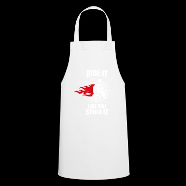Wheelchair gift for wheelchair users - Cooking Apron