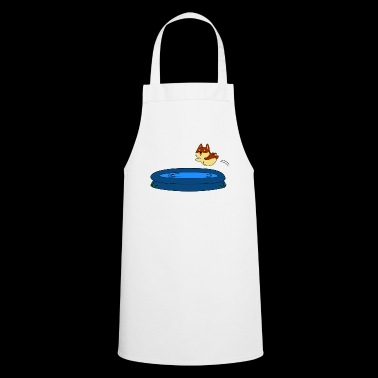 Dog in the pool - Cooking Apron