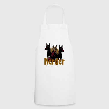 Herder, Malinois, service dog, police dog, dog sports - Cooking Apron