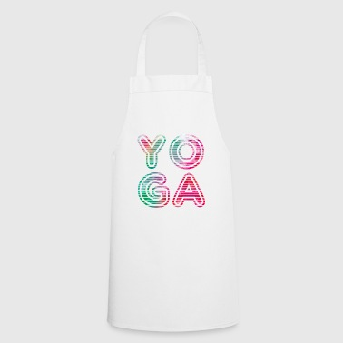 Yoga Typo - Cooking Apron