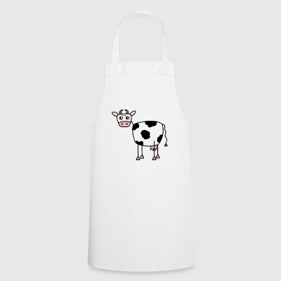 Funny cow with udder - Cooking Apron