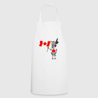 Canadian zebra - Cooking Apron