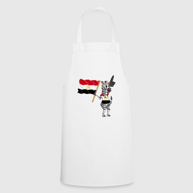 Egyptian zebra - Cooking Apron