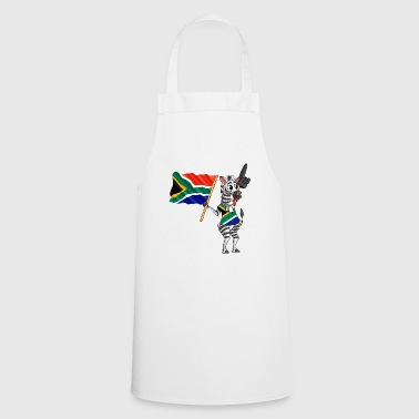 South African Zebra - Cooking Apron