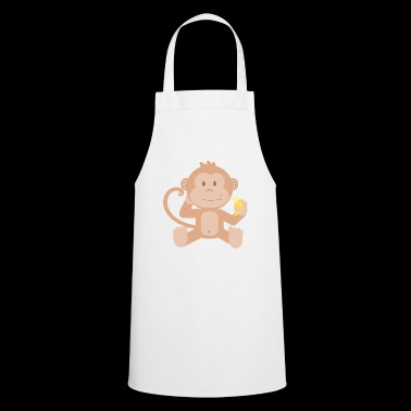 Monkey with banana - Cooking Apron