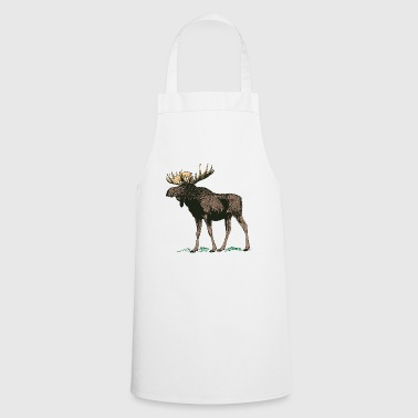 Moose antler - Cooking Apron