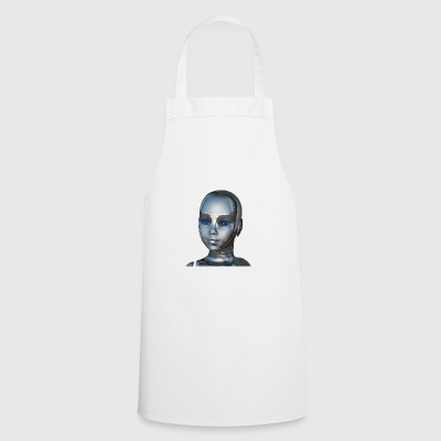 Cyborg kid - Cooking Apron