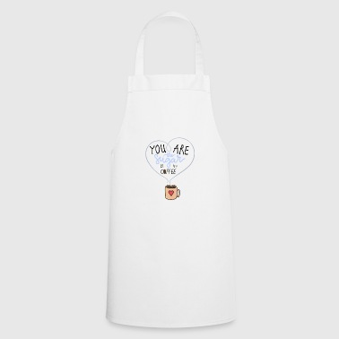 Sugar in my coffee - Cooking Apron