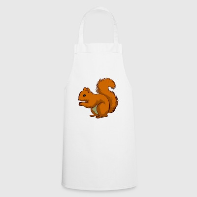 Ecki the squirrel - Cooking Apron