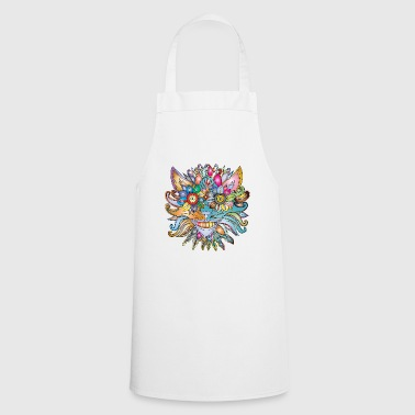 Crazy Wolf - Cooking Apron