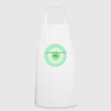 congratulations with me - Cooking Apron