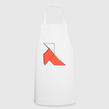 origami paper plane paper airplane1 - Cooking Apron