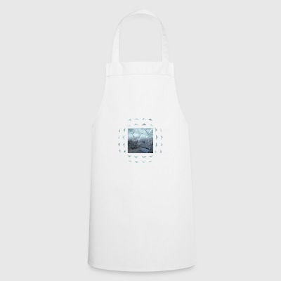 Beach basket seagull - Cooking Apron