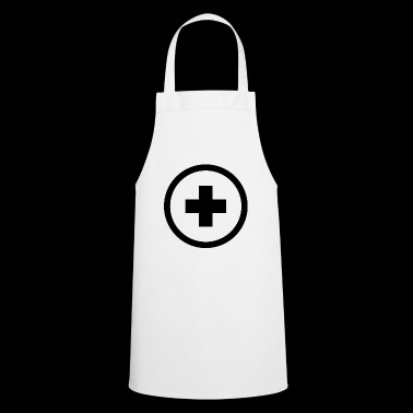Plus sign - Cooking Apron