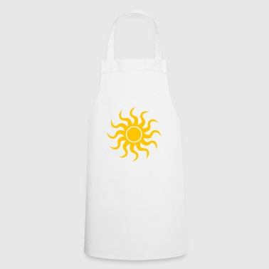 rainbow sun clouds weather rainbow sun cloud45 - Cooking Apron
