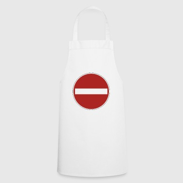 prohibition sign - Cooking Apron