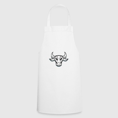Bull with a bad appearance! Gift idea buffalo - Cooking Apron