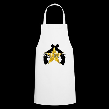 logo Guns Sheriff - Tablier de cuisine